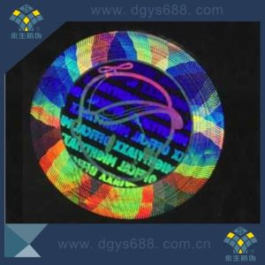 Custom Two Channels Laser Sticker Label pictures & photos