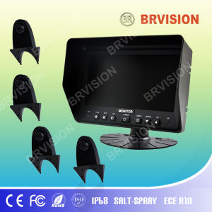 7 Inch Rear View System with Waterproof IP69k Shark Mount Rear View Camera for Truck pictures & photos