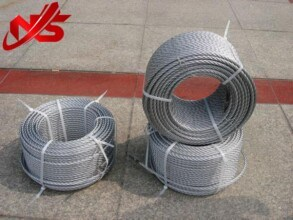 Galvanized Steel Wire Rope 6X24+7FC Coil Packing pictures & photos