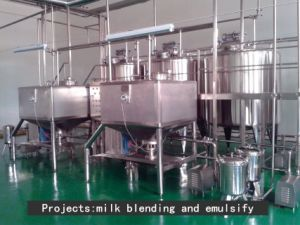 Industrial Use Milk Powder High Shear Emulsification Tank pictures & photos