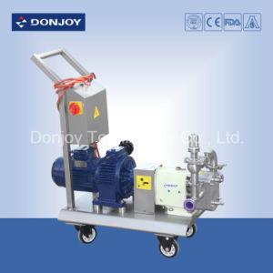 Tc/Tc/EPDM Mechanical Seal Lobe Pump 1.5kw-15kw ABB Motor pictures & photos