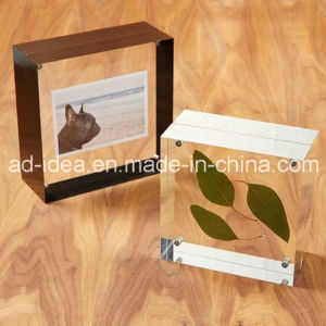 Multicolor Photo Frame Acrylic Display Rack / Clear Acrylic Exhibition Stand pictures & photos