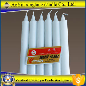 White Color Candles Illumination Home Lighting Candles pictures & photos