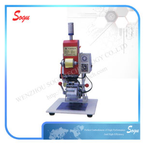 Manual Hot Foil Metal Stamping Machine pictures & photos