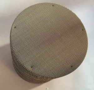 Stainless Steel 3-6 Multilayers Spot Welded Mesh Filter Screen pictures & photos