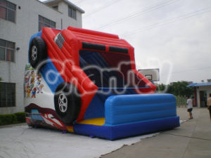 Cheap Inflatable Truck Slide Outdoor Slide for Children Chsl141 pictures & photos
