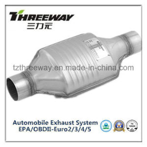 Car Exhaust System Three-Way Catalytic Converter #Twcat0081 pictures & photos