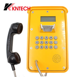 Service Telephone SIP Phone Internet Telephone Knsp-16 Waterproof Telephones pictures & photos