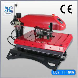 swing away pneumatic t shirt transfer machine pictures & photos