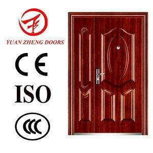 Security Double Steel Door for Apartment pictures & photos