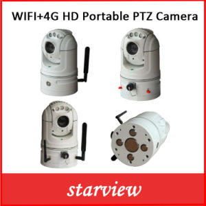 WiFi + 4G HD Portable Network PTZ Camera pictures & photos