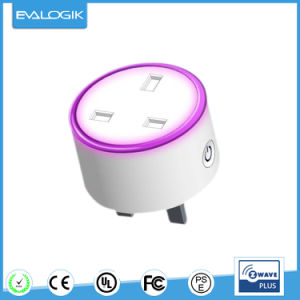 Z-Wave Switch Plug in Socket for Home Automation pictures & photos