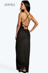 Tilly Strappy Back Detail Women Maxi Dress pictures & photos