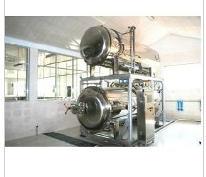 Product Food Sterilizer Machine for Plastic & Rubber Container