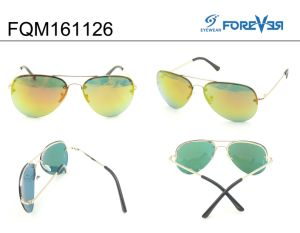 Fqm161126 New Design Good Quality Hotsale Unisex Metal Sunglasses pictures & photos