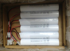 3s 3.6V D 4000mAh Nickel-Cadmium Cylindrical Battery pictures & photos