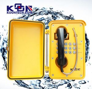 Waterproof Emergency Sos Phone Knsp-01 Weatherproof Phone pictures & photos