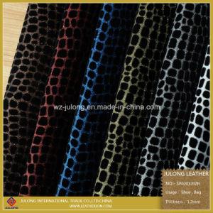 Popular Glitter Artificial PU (SP020) pictures & photos