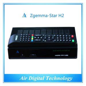 Sky TV Box HD DVB-S2 DVB-T2 Zgemma-Star H2 pictures & photos