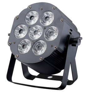 Round Mini 7X15W Indoor LED PAR Light for Wedding pictures & photos