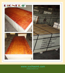 3′x6′ Red Film Faced Plywood for Algeria pictures & photos