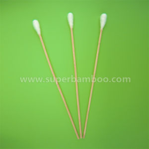 8′ Bamboo Stick Cotton Swab for Medical/Industry Use (B322039