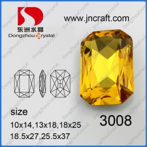 Crystal Octangle Jewelry Accessories, Fancy Loose Stone Bead (DZ-3008) pictures & photos