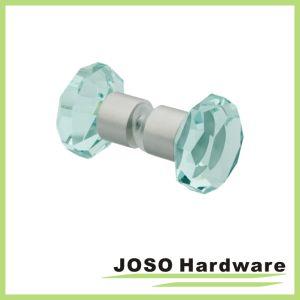 Crystal Glass Door Handle Shower Room Shower Knob (DKB19) pictures & photos