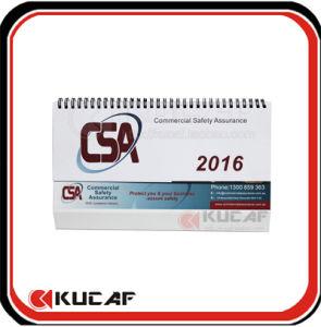Logo Printed Desk Calendar Cheap Desktop Calendar for 2017 pictures & photos