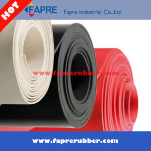 Red Silicone Rubber Sheet Roll/Industrial Red Silicone Rubber Sheet. pictures & photos