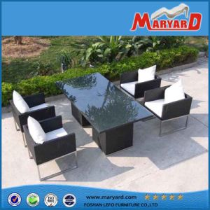 Rattan Outdoor Furniture Table Chair / Dining Wicker Table Chair Garden Furniture pictures & photos