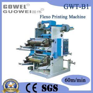 Mt Series Double-Color Plastic Flexo Printing Machine (GWT-B1) pictures & photos