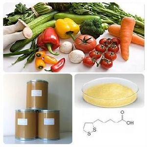 Reliable Pharmaceutical Excipients Manufacturer 99%Min Alpha Lipoic Acid pictures & photos