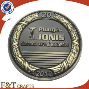 Commemorative Custom Challenge Antique Coins with Custom Logo (FTCN1964A) pictures & photos