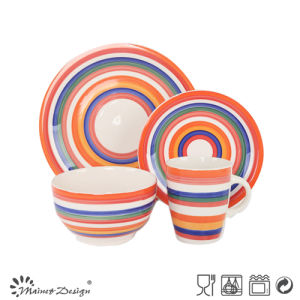 HAND PAINTING NATURAL COLORFUL DINNERWARE SET pictures & photos