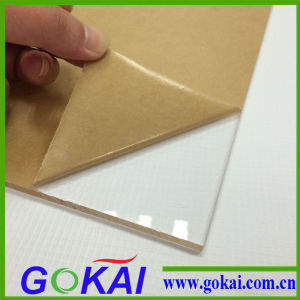 Gokai Clear Cast Type 3mm Thick High Gloss Acrylic Sheet pictures & photos