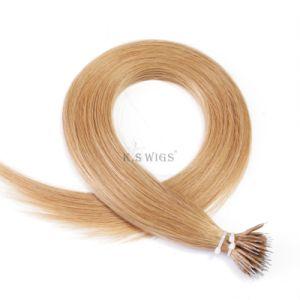 K. S Wigs 7A Grade 100% Brazilian Hair Nano Ring Hair Extension pictures & photos
