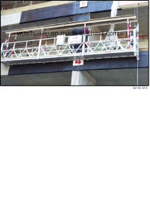 Zlp630 Aluminum or Steel Suspension Platform pictures & photos