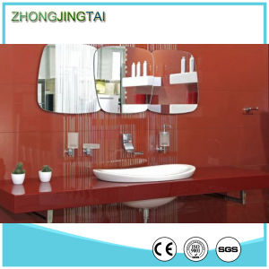Red Color Crystal Customer Size Artificial Quartz Vanity Tops pictures & photos