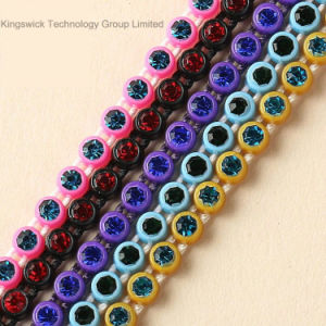Plastic Rhinestone Banding Plastic Strass Trimming pictures & photos