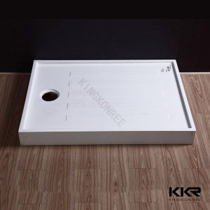 Artificial Resin Stone Acrylic Solid Surface Shower Tray pictures & photos