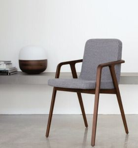 Modern Hotel Restaurant Dining Furniture Wooden Dining Chair (RA129)