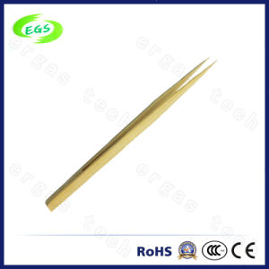 Bamboo ESD Tweezers for Electronic Products pictures & photos