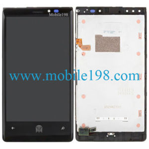 LCD Display and Digitizer with Front Housing for Nokia Lumia 920 pictures & photos