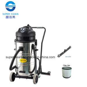 Light Clean 80L Wet and Dry Vacuum Cleaner with Squeegee pictures & photos