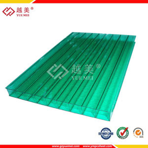 6mm Green Polycarbonate Hollow Sheet pictures & photos