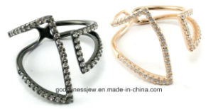 Hot Design Fashion Sterling Silver Factory Ring (A2r085) pictures & photos