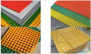 FRP GRP Fiberglass Reinforced Plastic Molded Grating with Vinyl Resin pictures & photos
