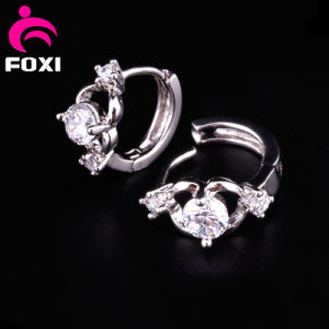 Best Sale Fashion Jewelry Diamond Hoop Earring pictures & photos