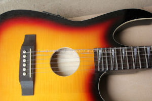 Hanhai Music / Double Neck Electric Guitar (6+12 Strings) pictures & photos